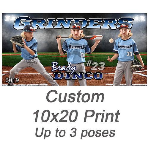 Custom 10x20 Print