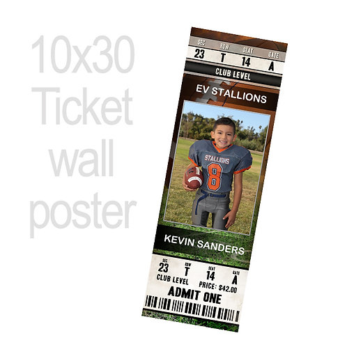 N. Ticket Poster 10x30