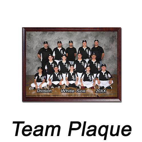 G. Team Plaque