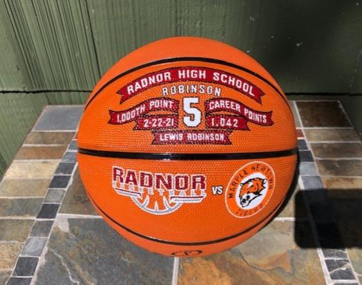 Premier 1000 point basketballs