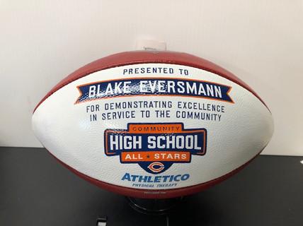 Premium Hand Painted Footballs