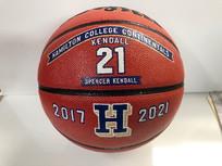 Hand painted basketball awards