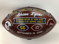 Premium Hand Painted Football