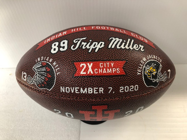 custom decorated footballs
