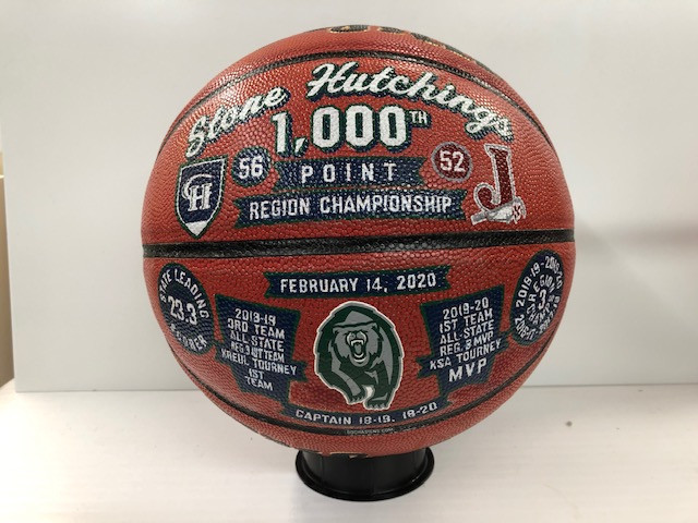 1000 point basketball award