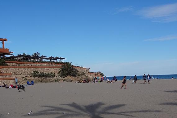 La Zenia strand aan de Costa Blanca dicht bij appartement CasaMyna