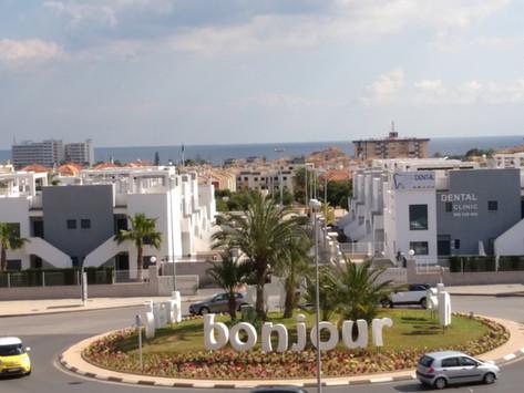Uitzicht La Zenia Boulevard