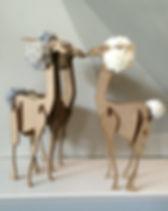 Lama bois et laine de décoration.jpg