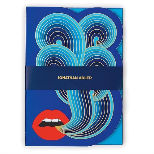 Notebook a5  lips Jonathan adler