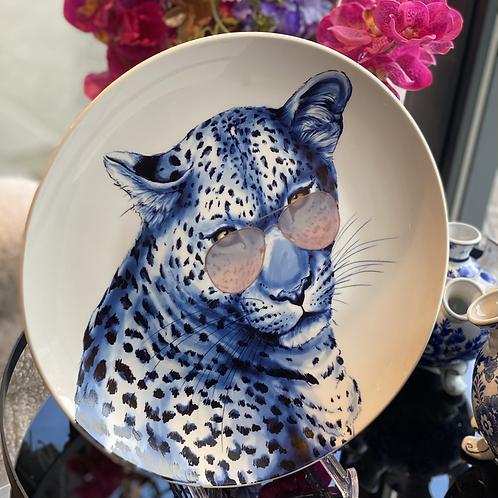 Wand/decobord Leopard Sunglasses