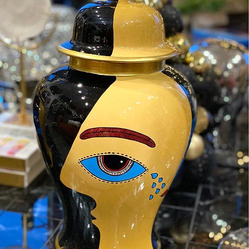 Jar face black 37