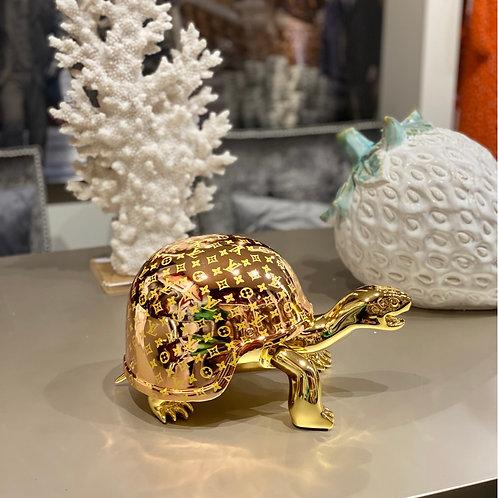 Schildpad Lio gold