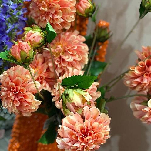 Silk Dahlia bloem 69cm