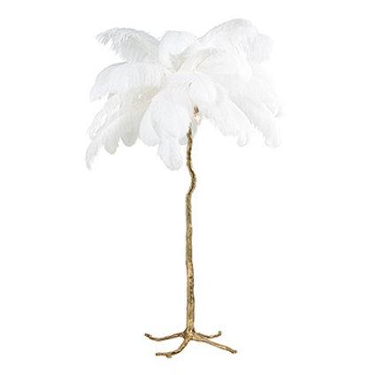 Burlesque vloerlamp white