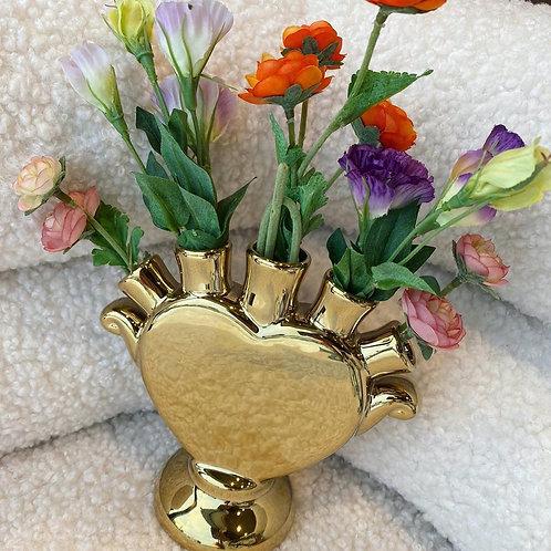 Tulpenvaasje Heart gold