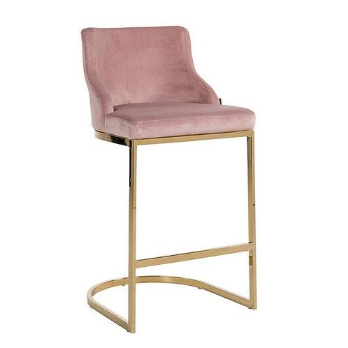 Barstoel Bolton pink