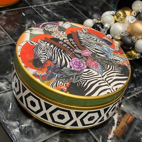 Box jungle zebra