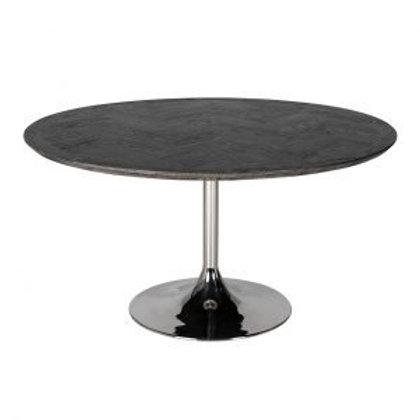 Eettafel rond blackbone silver
