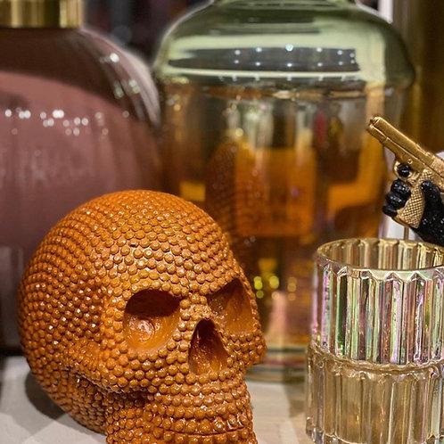 Skull orange