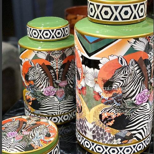 Jar Zebra Jungle 40