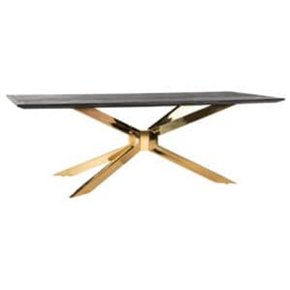 Eettafel Matrix 240 blackbone gold
