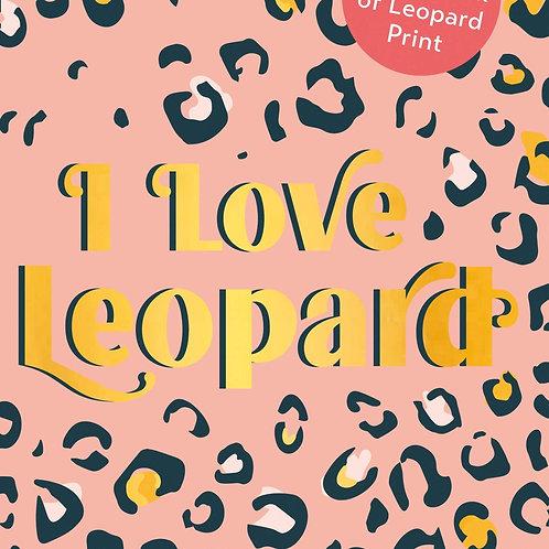 I love Leopard book