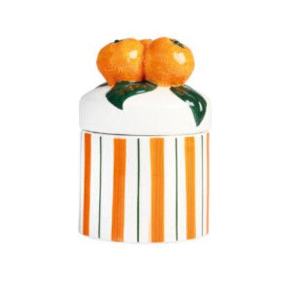 Orange jar small