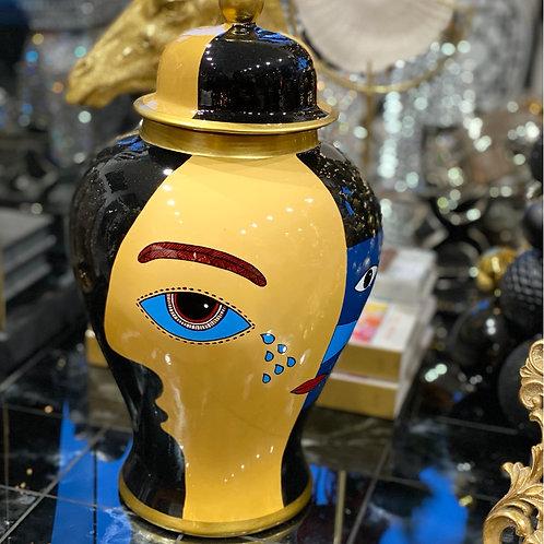 Jar face black 33
