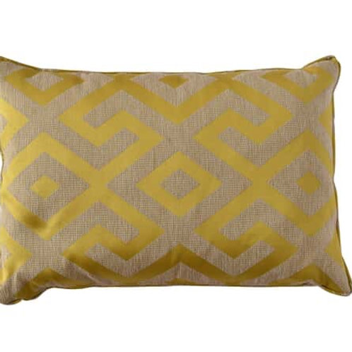 Cushion Angelina Yellow 60x30