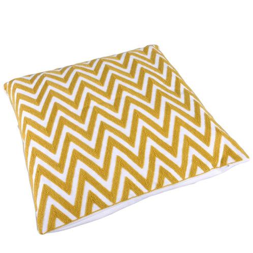 Cushion Zigzag yellow
