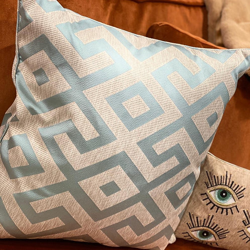 Cushion Angelina blue 60x60