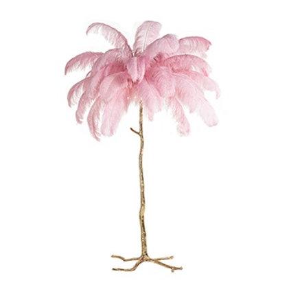 Burlesque vloerlamp pink