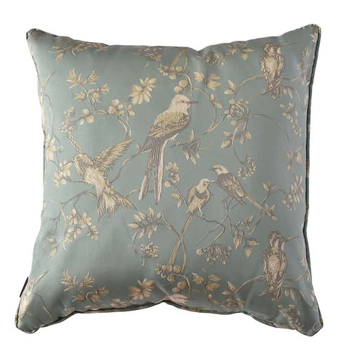 Cushion Birds Blue 60x60