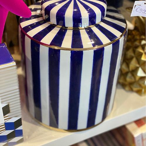 Jar dark blue 27.5
