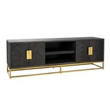 TV dressoir 185 Blackbone Gold