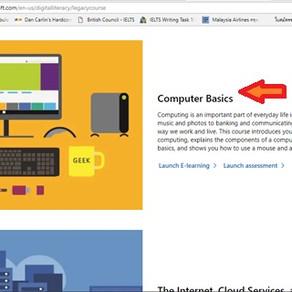 คู่มือเรียนออนไลน์ Microsoft Digital Literacy