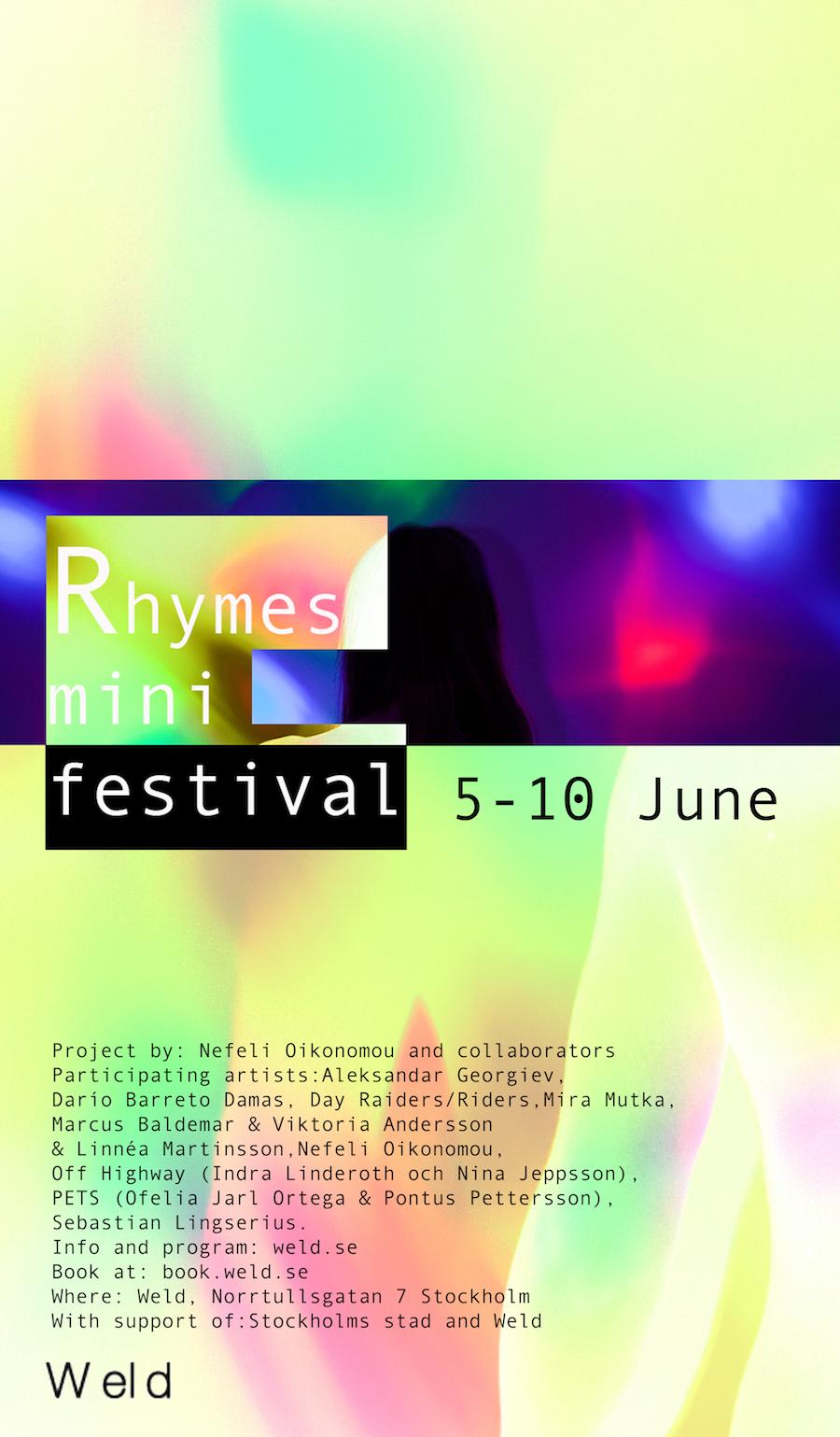 Rhymes mini-festival