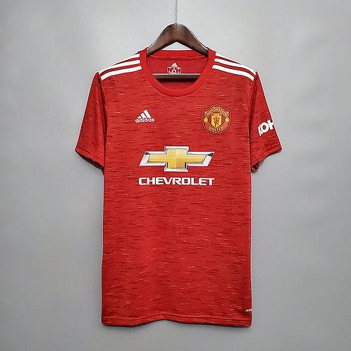 Camisa Manchester United I 20/21 - Torcedor Adidas