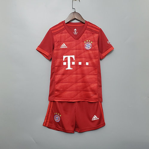 Kit Bayern de Munique Home 2020 - Infantil Adidas