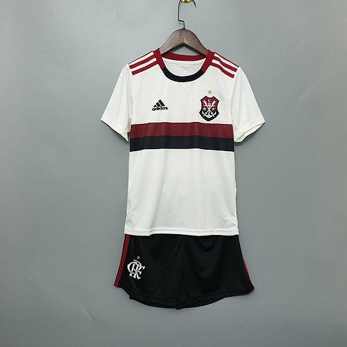Kit Flamengo Away 2019 - Infantil Adidas