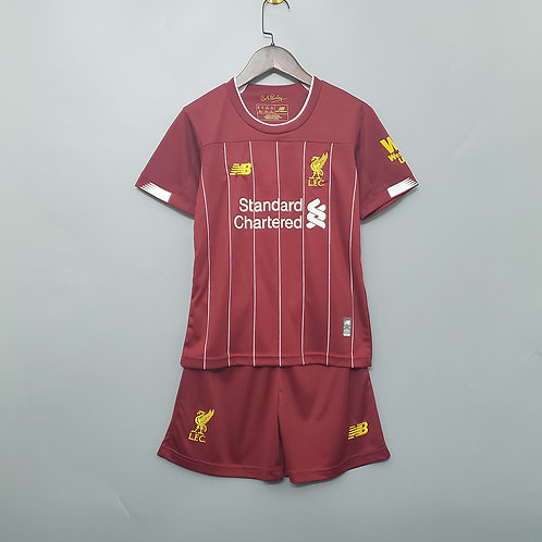 Kit Liverpool Home 2020 - Infantil New Balance