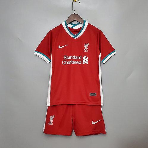 Conjunto Infantil Liverpool I 20/21 - Nike