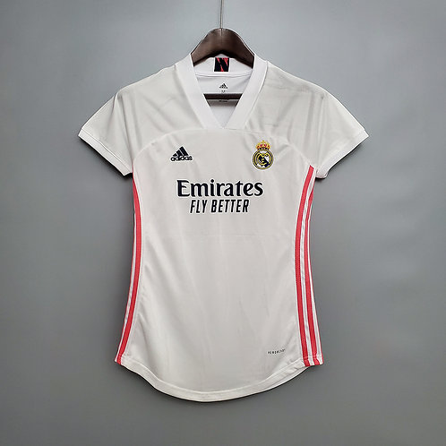 Camisa Real Madrid l 20/21 - Torcedora Adidas
