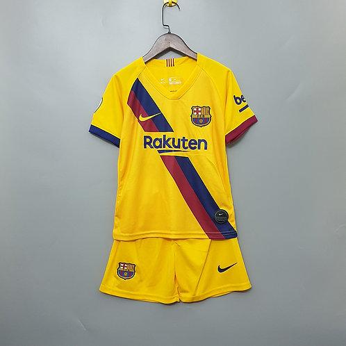 Kit Barcelona Away 2020 - Infantil Nike