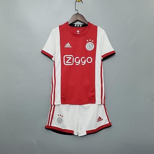 Kit Ajax Home 2020 - Infantil Adidas