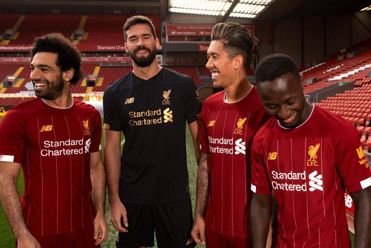 Novo uniforme do Liverpool 2019-20