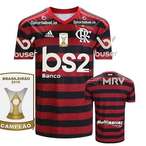 Camisa Flamengo Home 2019 - Campeão Brasileiro