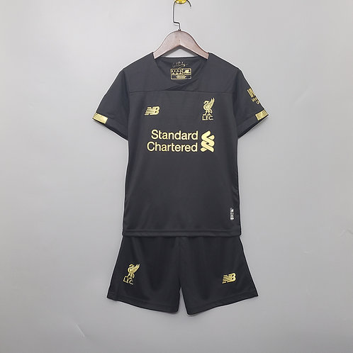 Kit Liverpool Goleiro 2020 - Infantil New Balance