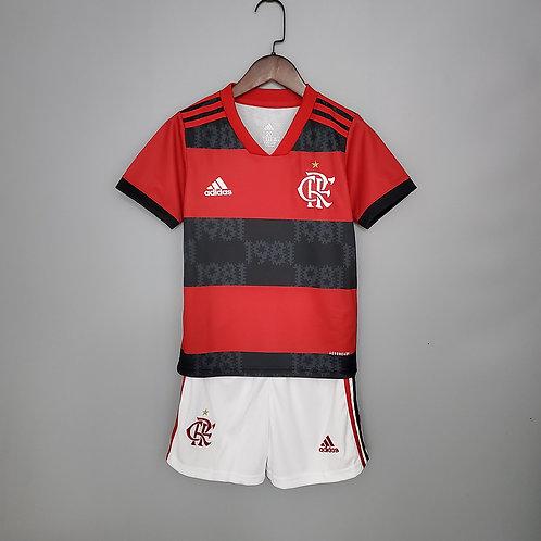 Conjunto Infantil Flamengo l 19/20 - Adidas
