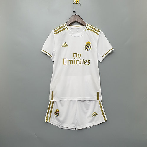 Kit Real Madrid Home 2020 - Infantil Adidas